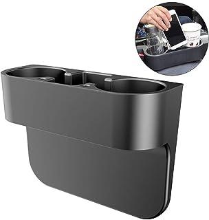 FIOTOK Multifunctional Universal Car Cup Holder Inserts Images Bottle Organizer Seat Back Drinking Bracket Car Seat Wedge ...