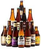Assortiment de bières - Idée cadeau - Découverte de la bière - Dégustation (Assortiment 12 bières les meilleures trappistes) - Idée cadeau Fête des Pères