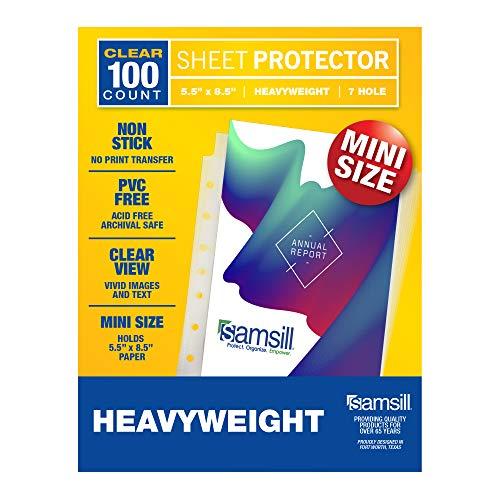 Samsill 100 Mini Clear Heavyweig...