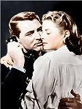 Posterlounge Alubild 70 x 90 cm: Notorious, von Links: Cary Grant, Ingrid Bergman, 1946 von Everett Collection