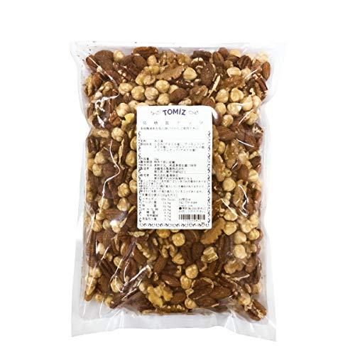 低糖質ナッツ / 1kg TOMIZ(創業102年 富澤商店) ナッツ ミックスナッツ ロカボナッツ 素焼き 無塩