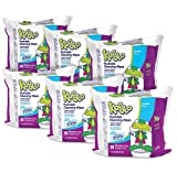 4. Flushable Wipes for Baby and Kids by Kandoo, Unscented for Sensitive Skin, Hypoallergenic Potty Training Wet Cleansing Cloths, 50 Count, Pack of 12