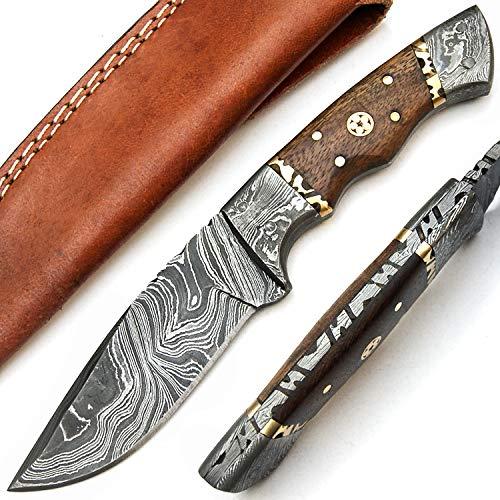 PAL 2000 9568 Cuchillo de acero Damasco hecho a mano