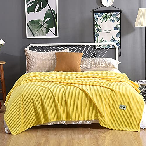Zoomlie Manta de forro polar para cama individual o doble, d