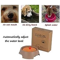 600 mlのこぼれ防止ペット犬猫水ボウルフローティング飲酒ボウル食品皿