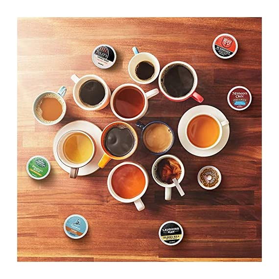 Keurig k-cup pod variety pack, single-serve coffee k-cup pods, amazon exclusive, 72 count 6 includes: 3 k-cup pods from 20 popular varieties, including green mountain coffee breakfast blend, the original donut shop regular, newman's own organic special blend, caribou coffee caribou blend, tully's coffee italian roast, and many more variety: sample different coffees and discover your favorites from a wide variety of roasts, flavors, and brands compatibility: contains authentic keurig k-cup pods, engineered for guaranteed quality and compatibility with all keurig k-cup coffee makers