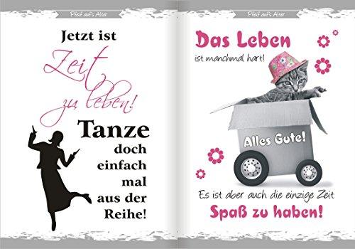 Pfeif auf's Alter Neutral im Geschenke Set für Frauen zum Geburtstag Geldgeschenk Umschlag mit Piccolo 22 Karat Blattgold gold pink lila schwarz (Pfeif aufs Alter pink 18 mit Piccolo 20214) - 3