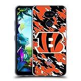 Head Case Designs sous Licence Officielle NFL Camou Cincinnati Bengals Logo Coque en Gel Doux...