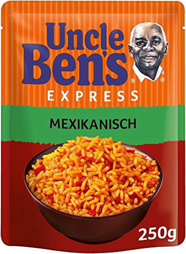 Uncle Ben's Express-Reis Mexikanisch, 1 Packung (1 x 250g)