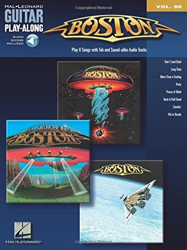 Guitar Play-Along Vol.086 Boston + Cd