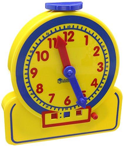 Learning Resources- Orologio di apprendimento a 24 Ore Junior Primary Time Teacher, Colore, LER2993