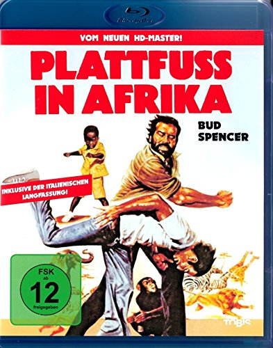 PLATTFUSS IN AFRIKA (Bud Spencer) Blu-ray Disc
