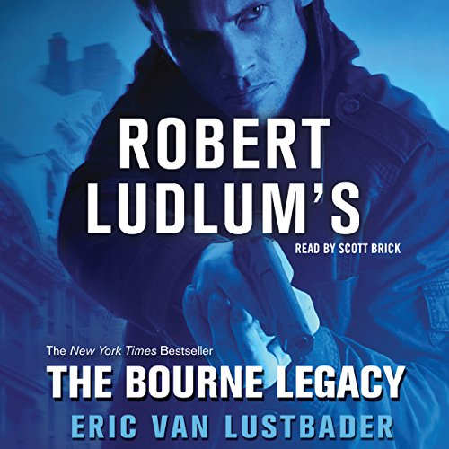 The Bourne Legacy audiobook cover art