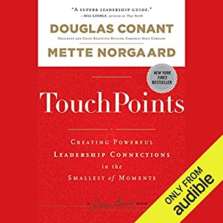 TouchPoints audiobook cover art
