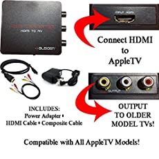 Image of HDMI to 3RCA Composite AV. Brand catalog list of Bleiden.