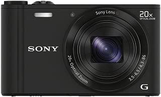 SONY デジタルカメラ Cyber-shot WX300 2110万画素 光学20倍 ブラック DSC-WX300(B)