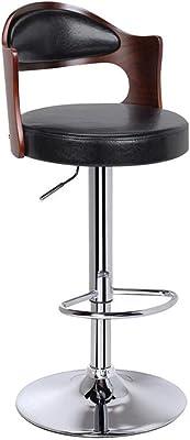 Amazon Com Baxton Studio Garr Walnut And Black Modern Bar