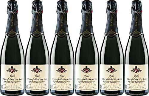Wein- und Sektgut Ernst Minges Dornfelder Sekt Trocken (6 x 0.75 l)