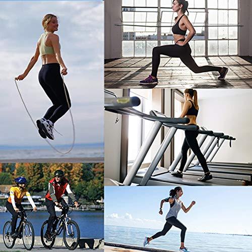CAMPSNAIL 4 Pack High Waisted Capri Leggings for Women - Butt Lift Buttery Soft Yoga Pants for Cycling Workout
