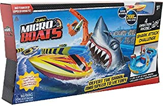 ZURU, Micro Boats Shark Attack Challenge playset