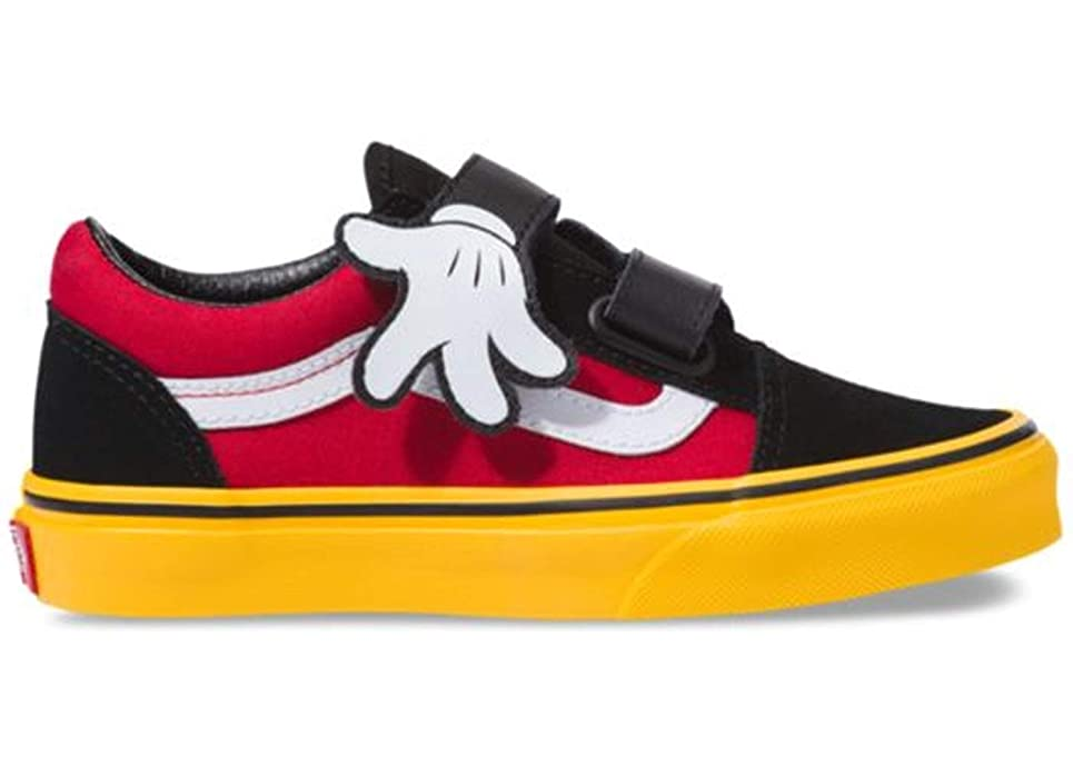Vans Disney Authentic Minnie's Bow Toddlers Red Sneakers