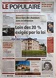 POPULAIRE DU CENTRE (LE) [No 267] du 17/11/2005 - RUGBY - XV DE FRANCE - LA ROTATION CONTINUE - LA MEYZE - TUE SUR LE COUP - 16 PAGES POUR TOUT SAVOIR SUR LA FORMATION - TRAVAUX - L'AUZETTE ATTEND AVEC IMPATIENCE - PROPOS D'UN JOUR - LIBERTE - DESAMIANTAGE - DE NOMBREUSES IRREGULARITES CONSTATEES - DEUX TIERS DES CHANTIERS SONT EN INFRACTION - LOGEMENT SOCIAL - HAUTE-VIENNE ET CORREZE A LA TRAINE - LOIN DES 20 % EXIGES PAR LA LOI - MEDECINE - MOELLE OSSEUSE UN DON DE VIE - JUSTICE - OUTREAU - L