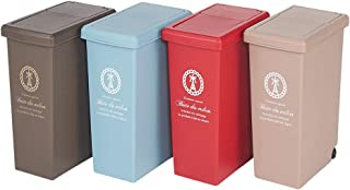インテリア雑貨 日用品 掃除用品 ゴミ箱 キッチン用ゴミ箱 フタスライド式ゴミ箱 30リットル 569831(サイズはありません イ:ブラウン)