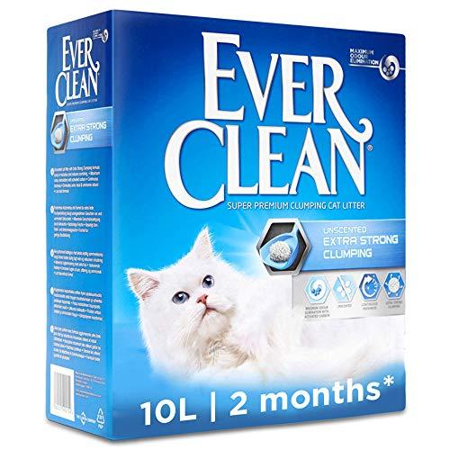 Ever Clean Lettiera Agglomerante Extra Forte, 10.Litri, Non Profumata