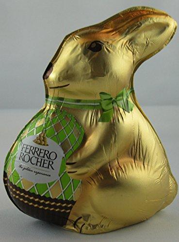 Ferrero Rocher Hase-Paques im Schokolade Milchschokolade mit, Glassplitter, Haselnüsse 100g