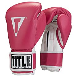 Title Pro Style Leather Training Gloves
