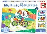 Educa 18898 My First Vehículos. Puzzles Progresivos Infantiles. 5, 6, 7 y 8 Piezas. +24 Meses. Ref, Multicolor