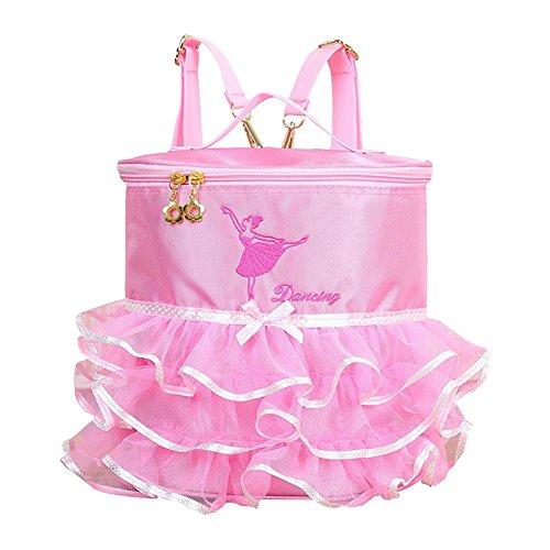 cheerfulus Mochila de Ballet para niñas, Bailarina Pincess Vestido de Bailarina Bordado con tutú