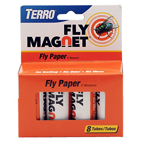 TERRO T518 Fly Magnet Sticky Fly Paper Fly...