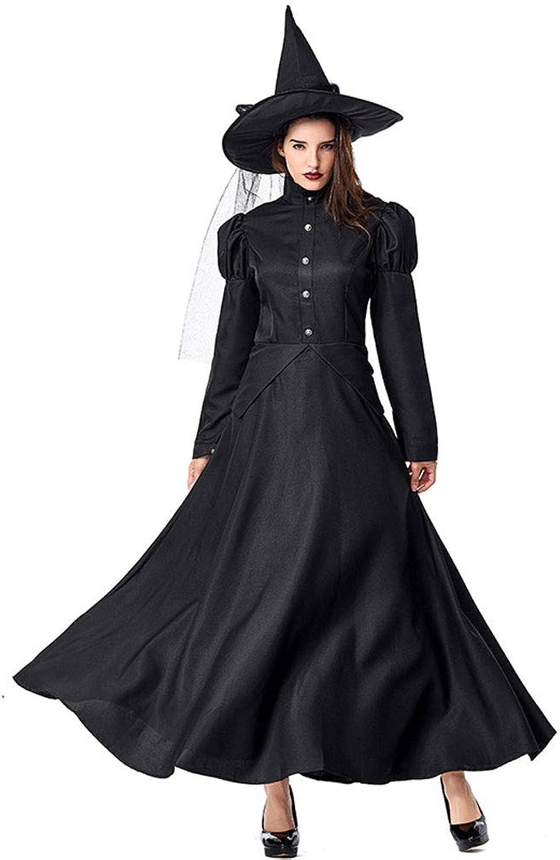 gran venta BXW Disfraces de Brujas Brujas Brujas Brujas Negras para Adultos y Niños, Leyendas Antiguas para Decoraciones de Halloween,Adultwitchcostume,L  directo de fábrica