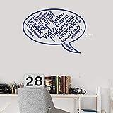 zhuziji Citations de Jeu vidéo Vinyle Stickers muraux Discours Ballon Ordinateur Jeu Joueur Salle Wall Art Autocollant Murale thème du Jeu Amusant tir game59x42cm