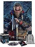 Good Loot Assassin'S Creed Valhalla Eivor - Puzzle 1000 Piezas 68cm x 48cm | Incluye póster y Bolsa | Videojuego | Puzzle para Adultos y Adolescentes