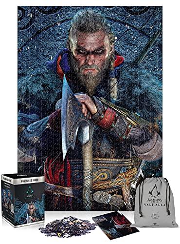 Good Loot Assassin's Creed Valhalla Eivor - 1000 Pezzi Puzzle 68cm x 48cm   Include Poster e Borsa   Videogioco   Puzzle per Adulti e Adolescenti