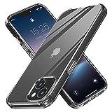 MATEPROX Funda Compatible con iPhone 13 Funda Carcasa Transparente Trasera Rígida Bumper Antigolpes, Ultra Claro Delgado Protector Fundas para iPhone 13 6,1''-Claro
