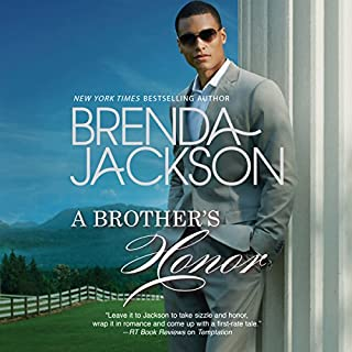 A Brother's Honor audiobook cover art
