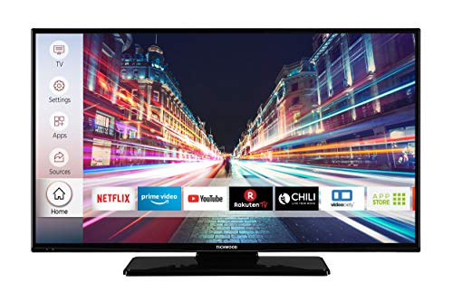Techwood F40T52C 102 cm (40 Zoll) Fernseher (Full HD, Triple-Tuner, Smart TV, Prime Video, Works with Alexa)