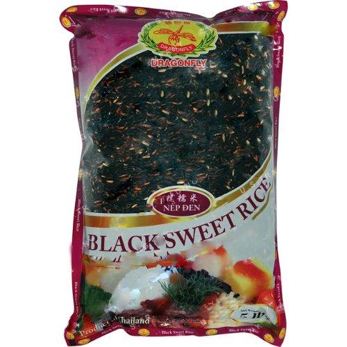 Dragonfly Black Sweet Rice, 5-Pound