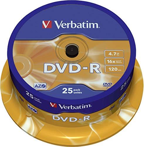 VERBATIM CORPORATION -  Verbatim DVD-R - 4.7