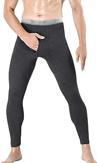 Macondoo Mens Slim High Waist Stretch Base Layer Leggings Long Johns Thermal Underwear