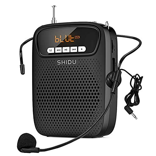 Portable Mini Voice Amplifier Wired Headset Microphone Speaker Set for Teachers 15W 2500mAh...