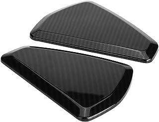 Qii lu 2Pcs Dashboard Console Panel Cover Trim, ABS Inner Car Dashboard Console Panel Cover Trim for Land Rover Range Rove...