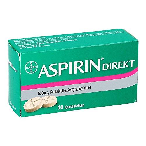ASPIRIN Direkt Kautabletten 10 St Kautabletten 10 St Kautabletten