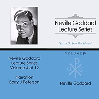 Neville Goddard Lecture Series: Volume IV audiobook cover art