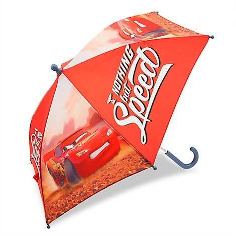 Disney Store Lightning McQueen Umbrella For Kids