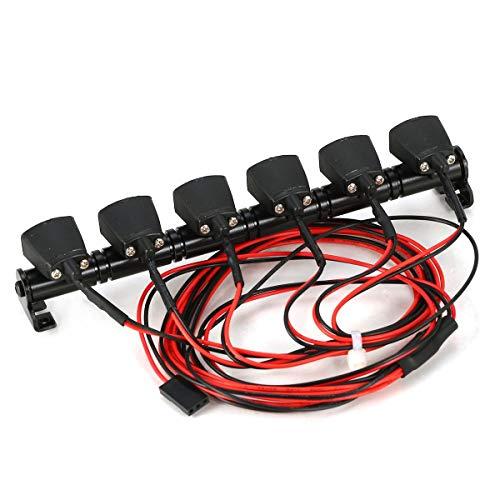 145M Multifunktions-LED-Lichtleiste für Traxxas Hsp Redcat Axial Scx10 D90 RC Crawler Jeep Wrangler Suchscheinwerfer Gugutogo