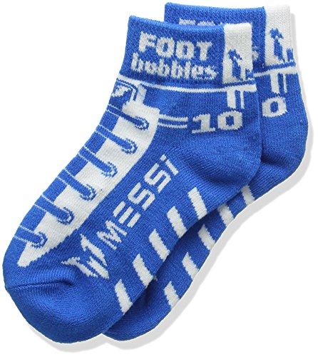 Messi footbubbles Knöchel Socken (blau)